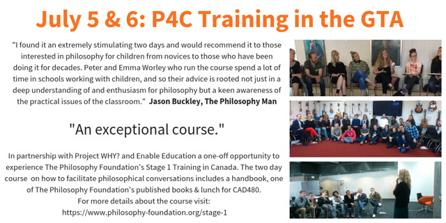 P4C Training in the GTA