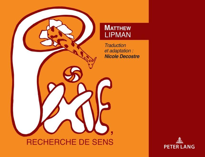 New French translation of Lipman's Pixie